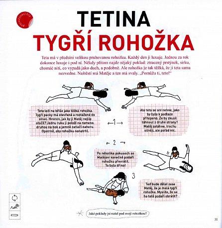 Náhled Matějova akrobacie - Zábavný průvodce akrobatickými cvičeními pro celou rodinu