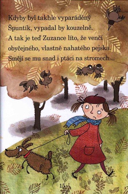 Náhled Zuzanka a kostkovaný pejsek - Moje první čítanka