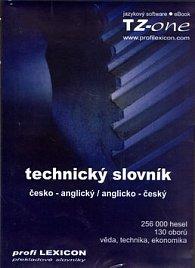 Technický slovník česko-anglický, anglicko-český
