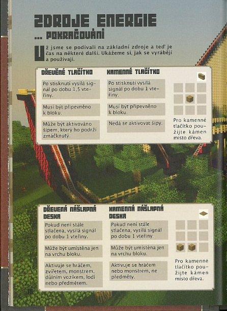 Náhled Minecraft - Příručka redstone