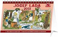 Kalendář 2013 stolní - Josef Lada V lese, 23,1 x 14,5 cm