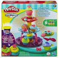 Play-Doh věž na dortíky