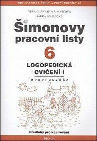 Šimonovy pracovní listy 6 logopedická cvičení