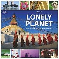Kalendář nástěnný 2012 - Lonely Planet, 30,5 x 35,5 cm