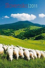 Slovensko 2011 - nástěnný kalendář