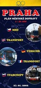 Praha plán městské dopravy