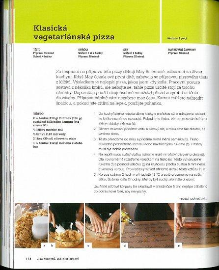 Náhled Živá kuchyně, cesta ke zdraví - Vše, co potřebujete vědět o živé stravě a o tom, jak ozdravit svůj jídelníček a životní styl!