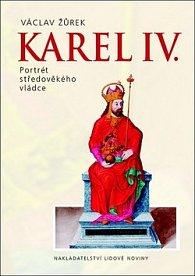 Karel IV. Portrét středověkého vládce