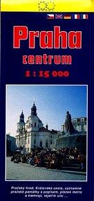 Praha centrum 1:15 000