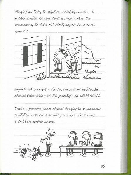 Náhled Deník malého poseroutky 8 - Fakt smůla