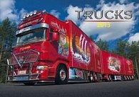 Trucks - nástěnný kalendář 2013