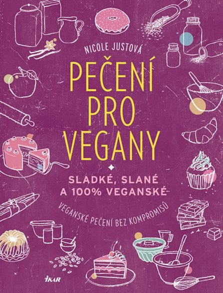 Náhled Pečení pro vegany - Sladké, slané a 100% veganské