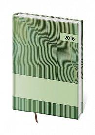 Diář 2016 - Vario kapesní týdenní - Green