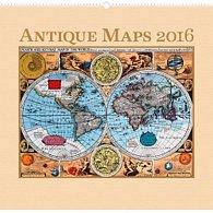 Kalendář nástěnný 2016 - Staré mapy,  48 x 46 cm
