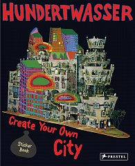 Hundertwasser: Create You Own City Sticker Book