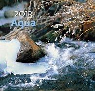 Kalendář nástěnný 2013 - Aqua