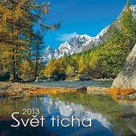 Svět ticha - nástěnný kalendář 2013