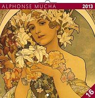 Kalendář 2013 - A. Mucha 30 x 60 cm, poznámkový
