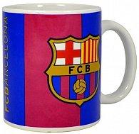 Hrnek keramický - FC Barcelona/pruhovaný se znakem