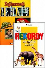 Balíček 2ks Rekordy z světa zvířat + Zajímavosti ze světa zvířat
