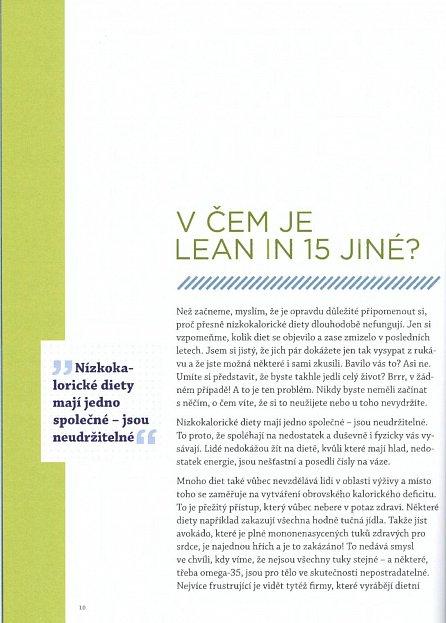 Náhled Lean in 15 - Postava snů