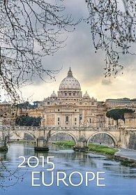 Kalendář nástěnný 2015 - Europe