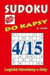 Sudoku do kapsy 4/2015 (červená)