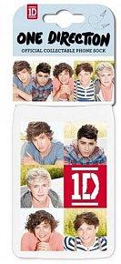 Obal na telefon - One Direction/bílý/tváře a srdíčka