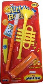 Sada- saxofon, kazoo, harmonika, píšťalka