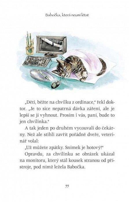 Náhled Babočka, která neumí létat - Klinika U bolavé tlapky