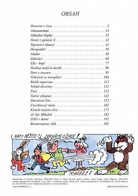 Náhled Věčné příběhy Čtyřlístku - 9. velká kniha z let 1990 až 1992