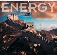 Kalendář 2014 - Energie - nástěnný s prodlouženými zády