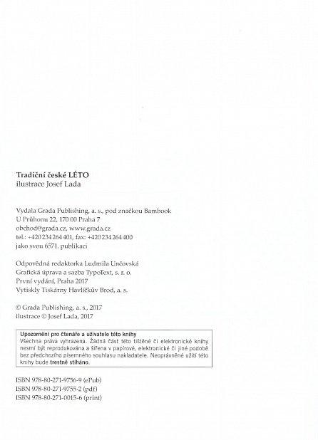 Náhled Tradiční české LÉTO – Josef Lada