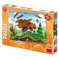 Tatra na cestách - Puzzle 100 XL dílků