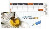 Pracovný kalendár 2015 Stolový kalendár Veľký