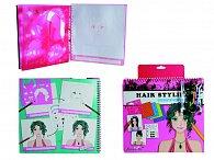 Kniha - vlasový styling