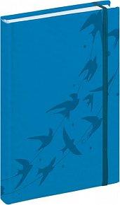 Diář 2016 - Tucson-Vivella speciál - Denní B6, středně modrá,  11 x 17 cm