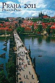 Praha Prague Prag 2011 - nástěnný kalendář