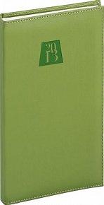 Diář 2013 - Grande - Kapesní, zelená, 9 x 15,5 cm