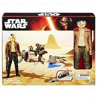 Star Wars epizoda 7 hrdinská figurka a vozidlo