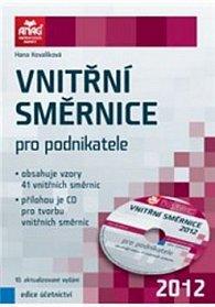 Vnitřní směrnice pro podnikatele 2012 + CD