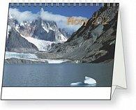 Kalendář stolní  2012 - Hory Jan Hocek, 16,5 x 13 cm