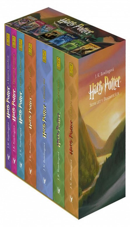 Náhled Harry Potter box 1-7