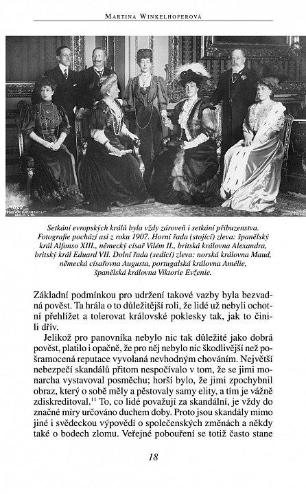 Náhled Evropské panovnické rody v zrcadle svých skandálů