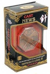 Hlavolam Hanayama Gold - News