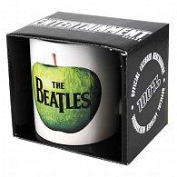 Hrnek - Beatles/apple white/bílý s jablkem