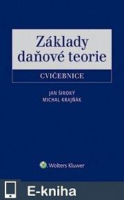 Základy daňové teorie - cvičebnice (E-KNIHA)