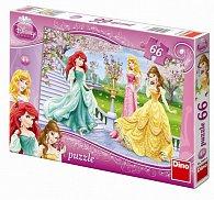 Princezny - puzzle 66 dílků