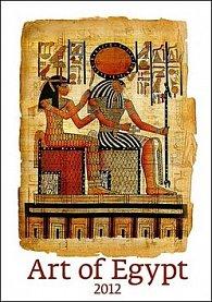 Kalendář nástěnný 2012 - Art of Egypt