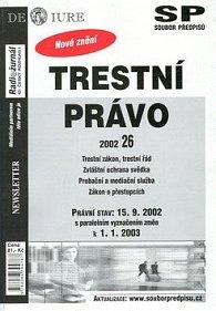 Trestní právo Právní stav k 15.9.2002